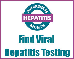 May 19. HEPATITIS TESTING DAY.  Click here to learn more.  http://www.cdcnpin.org/HTD/HTD.aspx