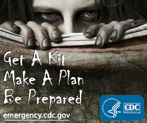 CDC Offers Zombie Apocalypse Emergency Plan