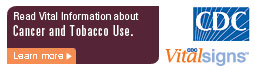 Learn Vital Information about Cancer and tobacco use