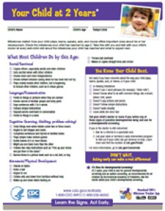Milestone checklists year also important milestones your baby by two years cdc rh