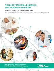 CDC  NIOSH Publications and Products  NIOSH Extramural