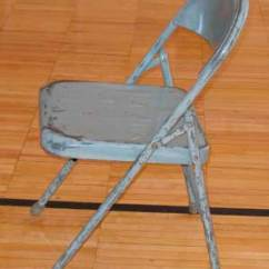Old Metal Chairs For Your Room Niosh Face Program Michigan Case Report 05mi088 Cdc Similar Steel Folding Chair To Type Victim Was Standing On
