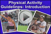 Physical Activity Guidelines Introduction Video