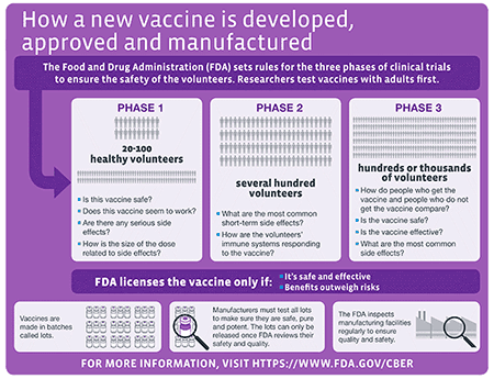 Ensuring the Safety of Vaccines in the United States