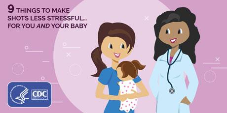 Parents | Make Shots Less Stressful: List | Vaccines | CDC