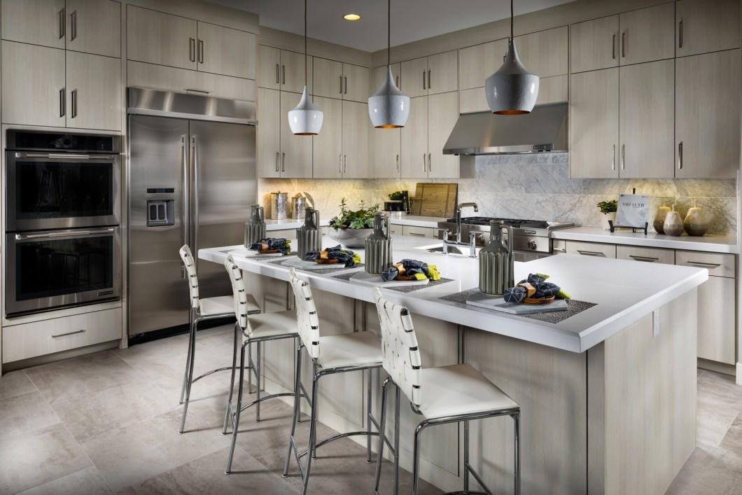 Toll Brothers White Kitchen Cabinets | Dandk Organizer