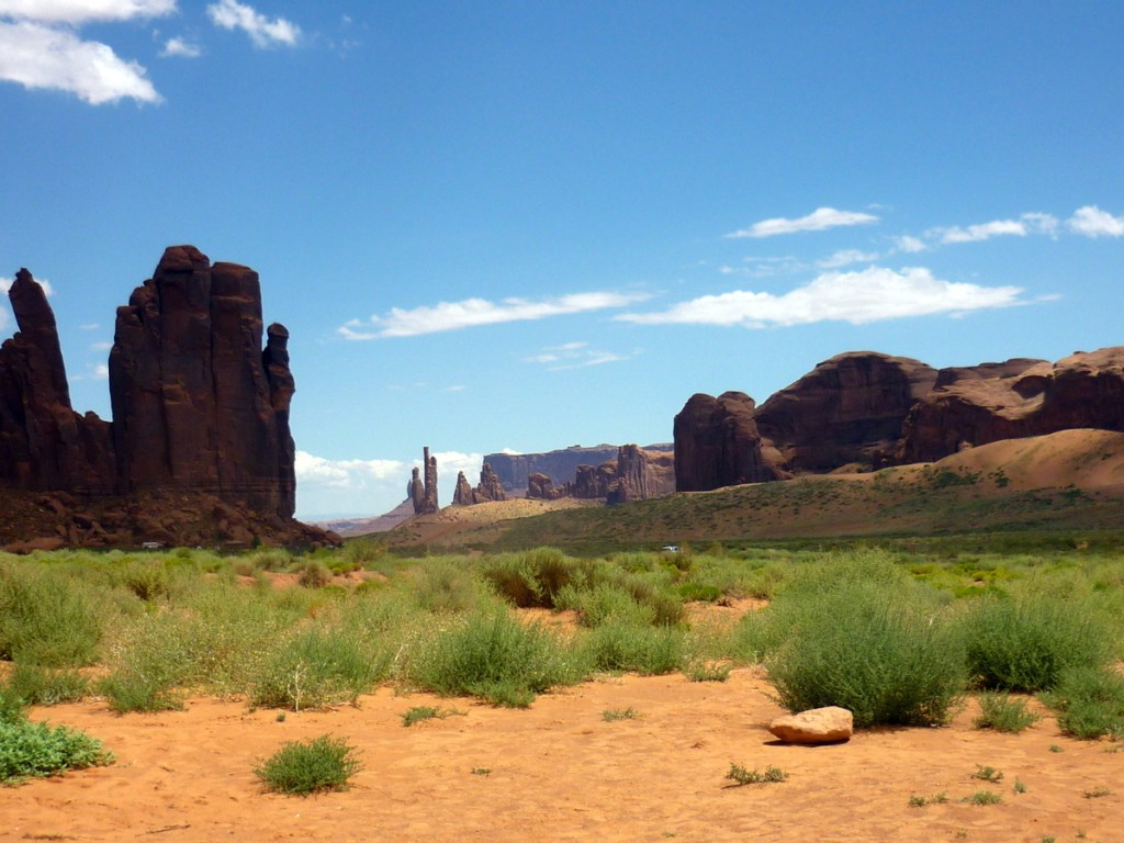 paysage monument valley