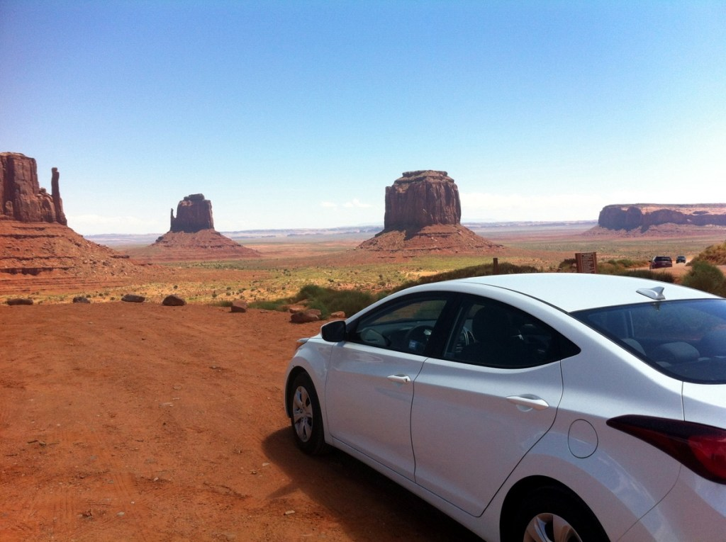 voiture monument valley