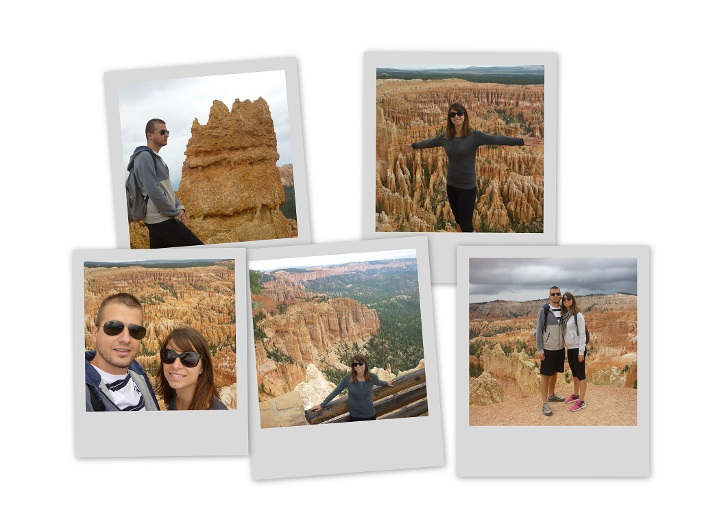 Polaroid bryce Canyon