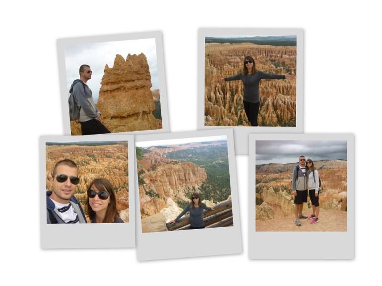Polaroid bryce Canyon