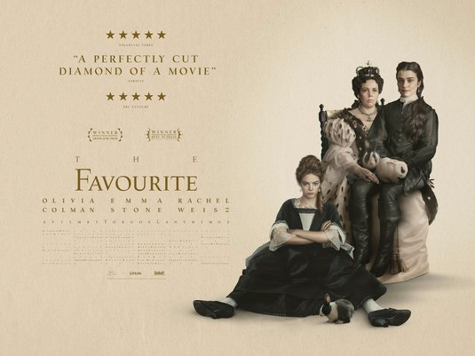 Image result for The Favourite poster""