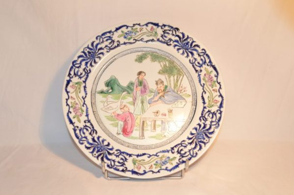 Antique Chinese Famille blue
