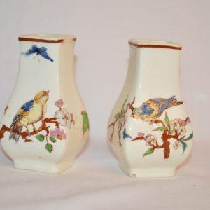 Paire de petit vases début XIX