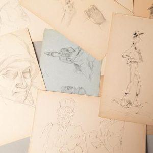 Édouard CREMIEUX (1856-1944) - 15 Épreuves d'artiste sur papier