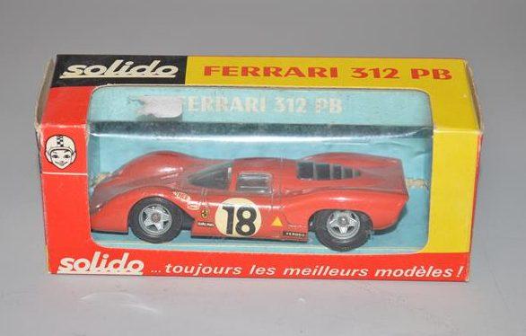 "SOLIDO: No 194 - Ferrarie 312 PB ""voiture 18"""