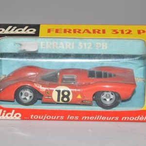 "SOLIDO: No 194 - Ferrarie 312 PB ""voiture 18"""
