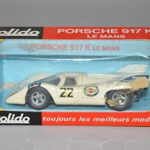 SOLIDO: No 198 - Porche 917K - le mans