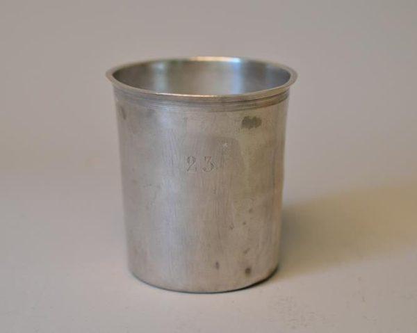 Timbale litron en argent - Poinçon 2ème coq
