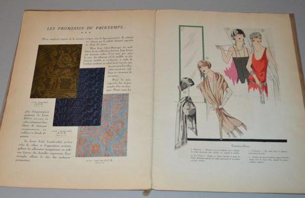 Art, goût, beauté : feuillets de l'élégance féminine Paris (Janvier 1925)