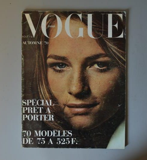 vogue paris - Aout 1970 - charlotte rampling
