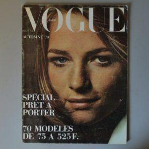 vogue paris - Aout 1970 - charlotte rampling