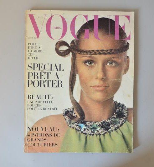 Vogue Paris - Octobre 1968 - spécial prêt a porter