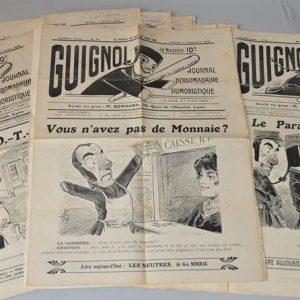 Le journal Guignol illustré humoristique (1915-1916)