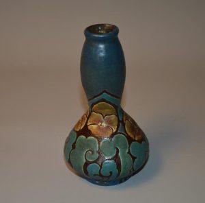 Louis DAGE (1885-1963), vase art déco en céramique