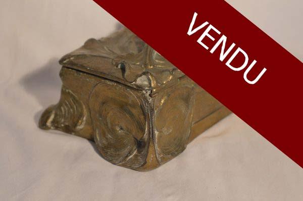 boite-a-bijoux-art-nouveau-bronze-fleur-vintage