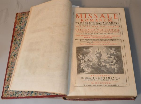 Missale Romanum Ex decreto Sacro-Sancti Concilii Tridentini Restitutum - Avignon