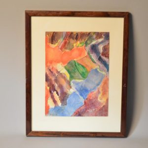Richard KAYLER (1927-1997) Composition abstraite, 1980