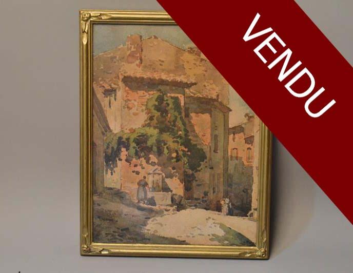 alfred-bergier-village-provençal