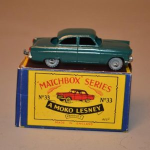 Matchbox Series - N° 33 Ford Zodiac - voiture miniature
