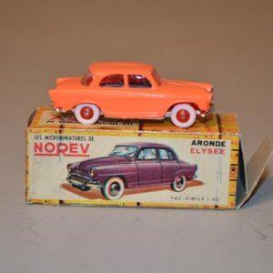 NOREV - Les Micro-miniatures - Modèle n° 13 Simca Aronde P60