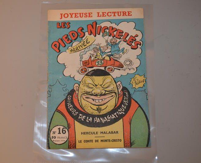 Pieds Nickelés – coureurs de la Panasiatique – 2ème édition – n°16 – 1957