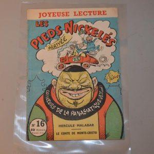 """Pieds Nickelés """"coureurs de la Panasiatique"""" 2ème édition - n° 16 - 1957"""