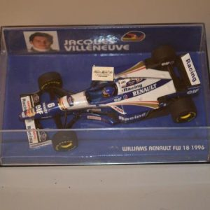Minichamps: Williams Renault FW18 - Jacques Villeneuve (1996)