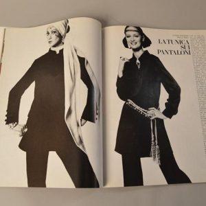 Vogue Italia - photo Susan Wood - Gennaio / Janvier 1969