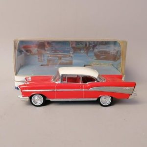 Matchbox Dinky Collection - DY-2 - Chevrolet Bel Air 1957 - Rouge 1:43