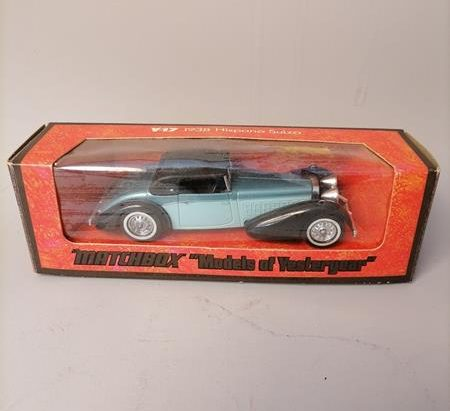 Matchbox model of Yesteryear - Hispano Suiza 1938 Y-17