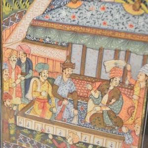 Peinture Persane - Iran - Milieu du XXe siècle