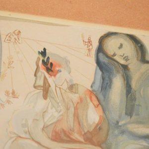 Salvador Dali (1904-1989) - Divine Comédie - Purgatoire - Bois gravé