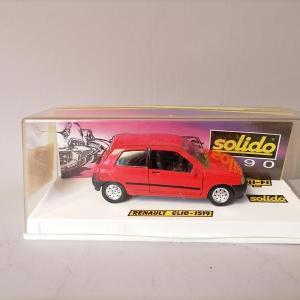 SOLIDO - Renault Clio en boite - voiture miniature 1/43