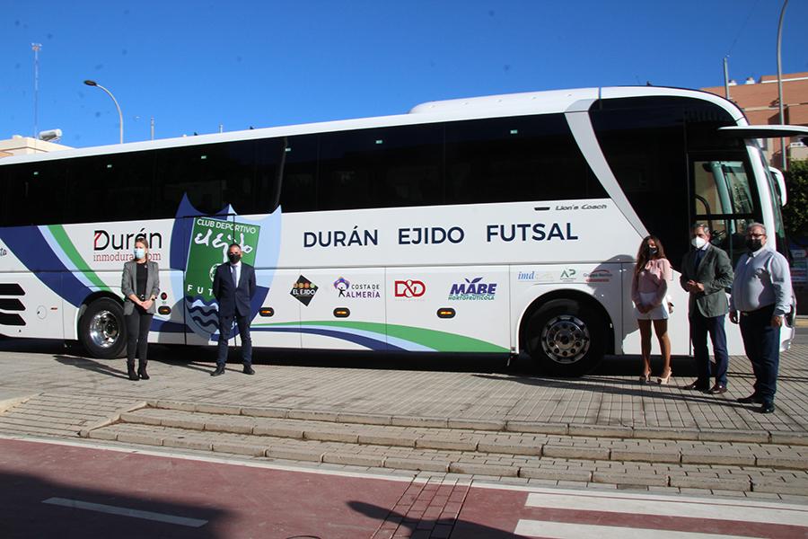 Durán Ejido Futsal presenta su nuevo auobús