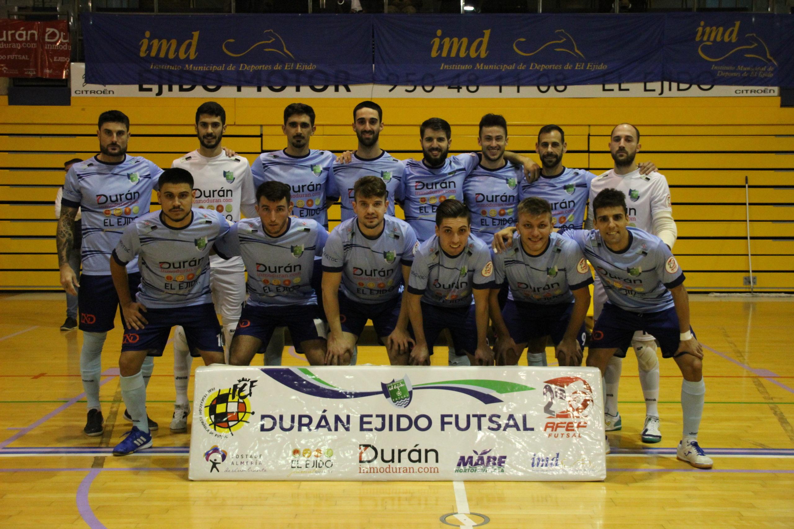 Durán Ejido Futsal cae 2-3 frente a Jimbee Cartagena