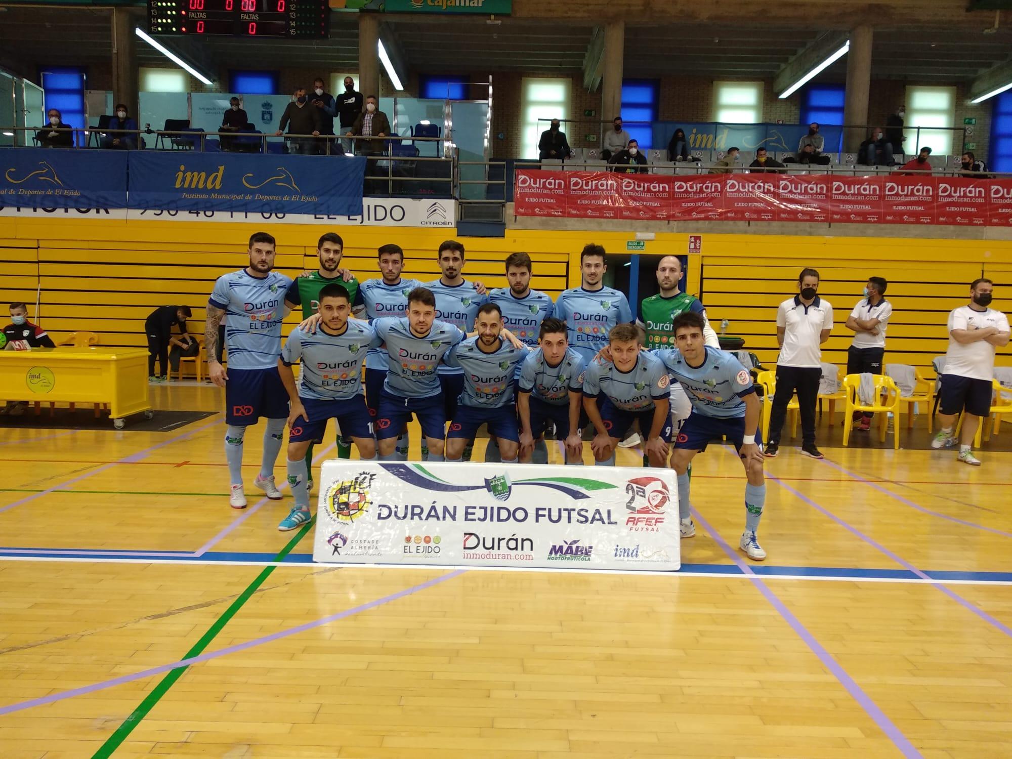 La suerte esquiva a Durán Ejido Futsal para culminar la remontada ante Noia