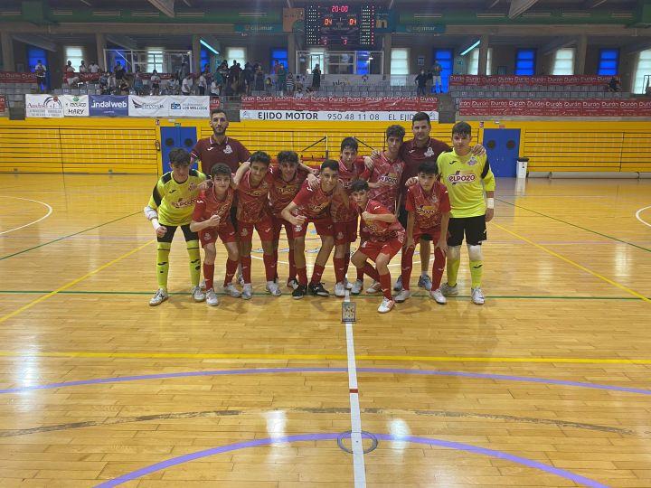 Aljucer Pozo se proclama campeón del I Torneo Costa de Almería Infantil