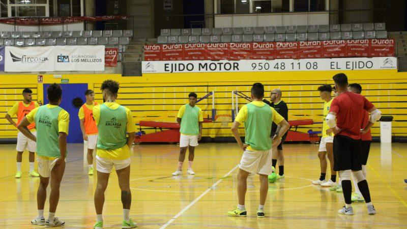 El balón comienza a rodar de nuevo para el CD El Ejido Futsal