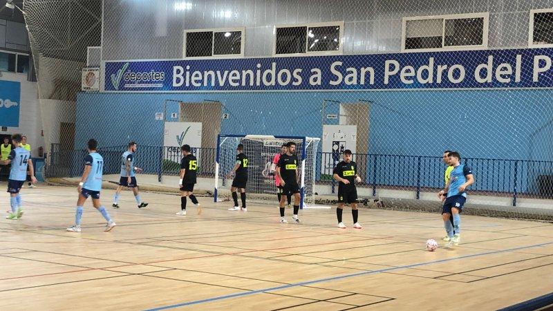 Victoria del CD El Ejido Futsal ante Zambú Pinatar