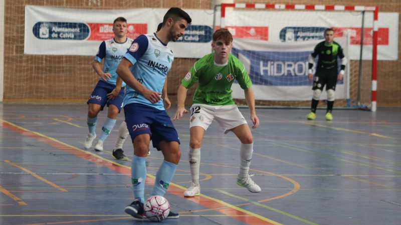 Las bajas y la falta de puntería le pasan factura a Inagroup El Ejido Futsal en Calvià
